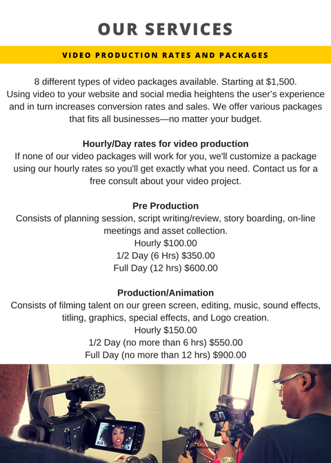 Production Service Flyer- final prices