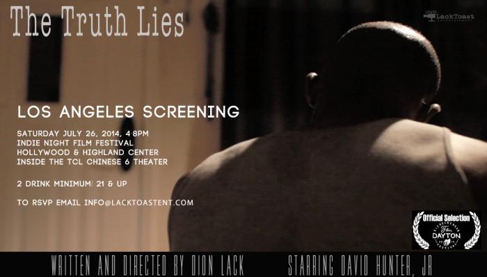 Truth Lies Screening Annoucement